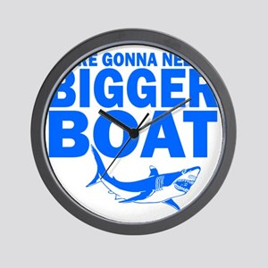 BiggerBoatJaws Wall Clock