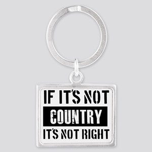 country Landscape Keychain