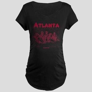 Atlanta_10x10_StoneMountain Maternity Dark T-Shirt