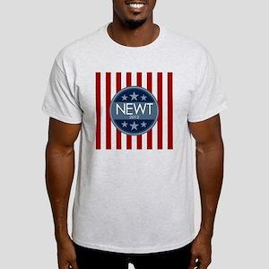 weathered-circle_newt_03 Light T-Shirt
