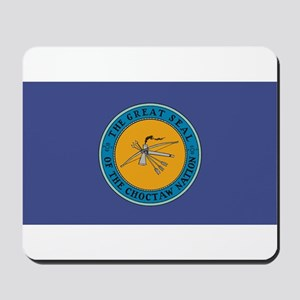 Choctaw Flag Mousepad