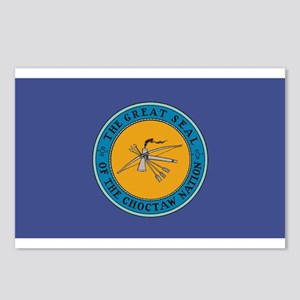 Choctaw Flag Postcards (Package of 8)