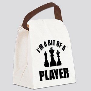 player-chess Canvas Lunch Bag