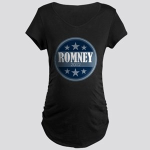 classic circle - Romney Maternity Dark T-Shirt
