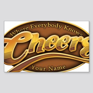 cheers-where-everybody-knows-y Sticker (Rectangle)