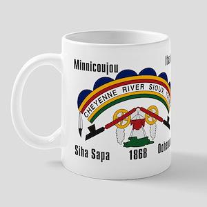 Cheyenne River Sioux Flag Mug