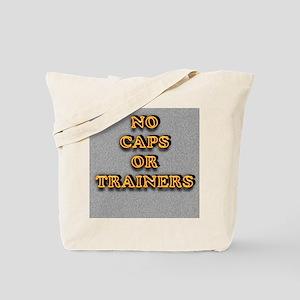 No Caps Tote Bag