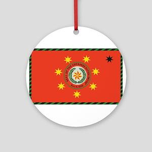 Cherokee Nation Oklahoma Ornament (Round)