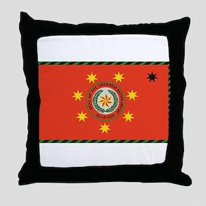 Cherokee Nation Oklahoma Throw Pillow