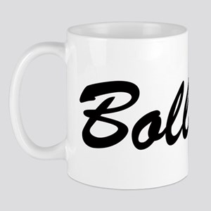 bollock horizontal brush Mug