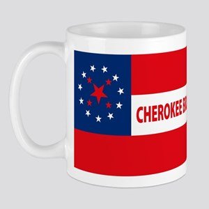 Cherokee Braves Flag Mug