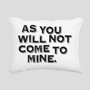 Burial_02_10x10_apparel Rectangular Canvas Pillow