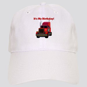 Semi Truck Birthday Cap