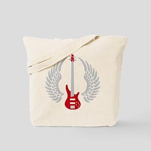 Bass Guitar 07-2011 A 2c Tote Bag