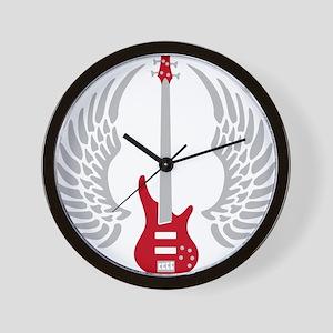 Bass Guitar 07-2011 A 2c Wall Clock