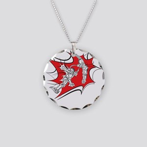 10x10_epee_Splash1-Wht Necklace Circle Charm