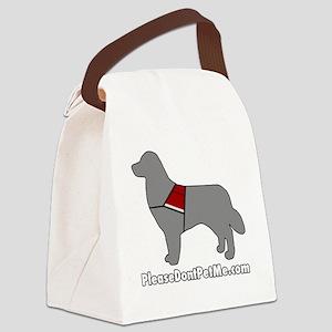 PDPM Dog (Grey) Canvas Lunch Bag