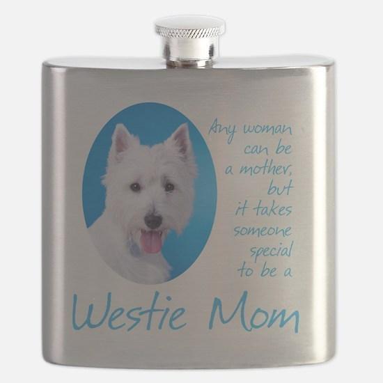 Westie Mom Flask