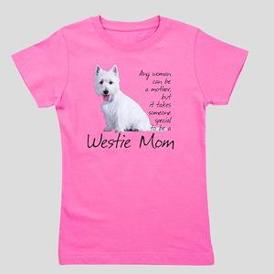 Westie Mom Girl's Tee