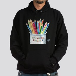 Colored Pencils Hoodie (dark)