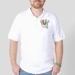 Colored Pencils Golf Shirt