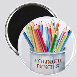 Colored Pencils Magnet