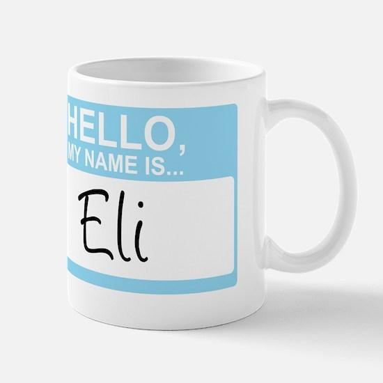 HelloMyNameIs...Eli Mug