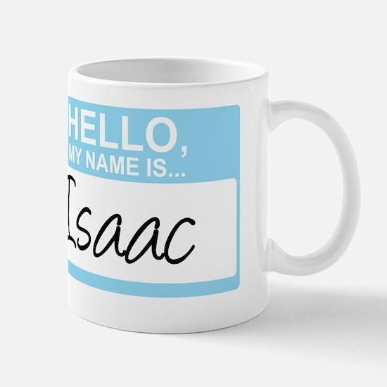 HelloMyNameIs...Isaac Mug