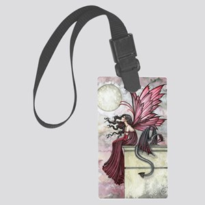 Restless Ruby Large Luggage Tag