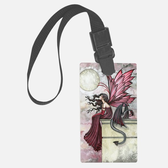 Restless Ruby Luggage Tag