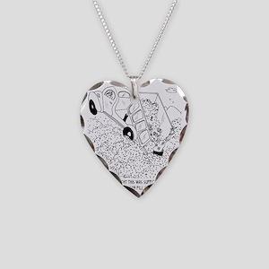 6435_excavation_cartoon Necklace Heart Charm