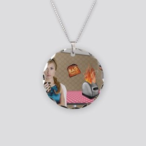 95x8 Necklace Circle Charm