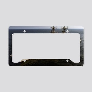 fletcher 992 framed panel pri License Plate Holder