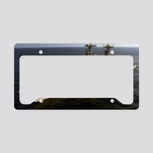fletcher 992 large framed pri License Plate Holder