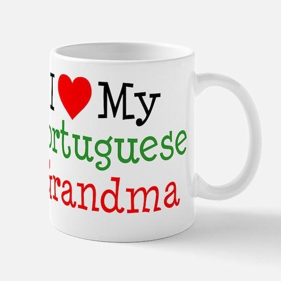 I Love Portuguese Grandma Mug