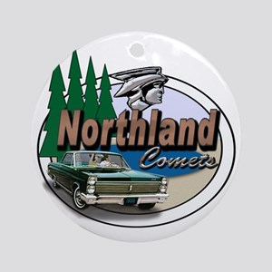 Oval-Northland-Comets-Logo Round Ornament