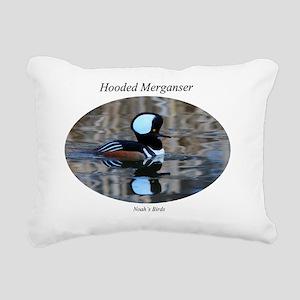 hooded text Rectangular Canvas Pillow
