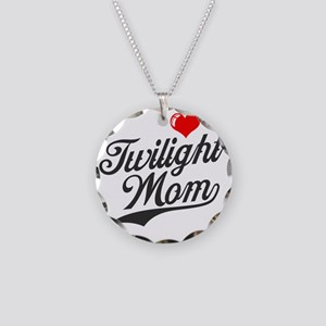 VD Twi Mom Necklace Circle Charm