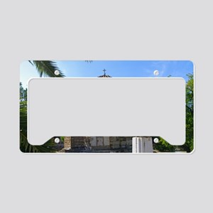 Byzantime church in Athens License Plate Holder