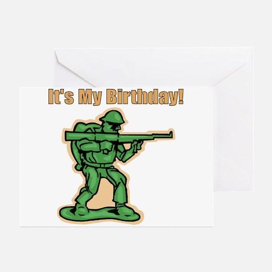 Green Army Men Birthday Party Invitations (Pkg of