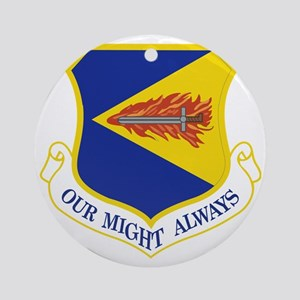 355th-Fighter-Wing Round Ornament