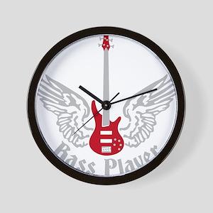 Bass Guitar 07-2011 F 2c Wall Clock