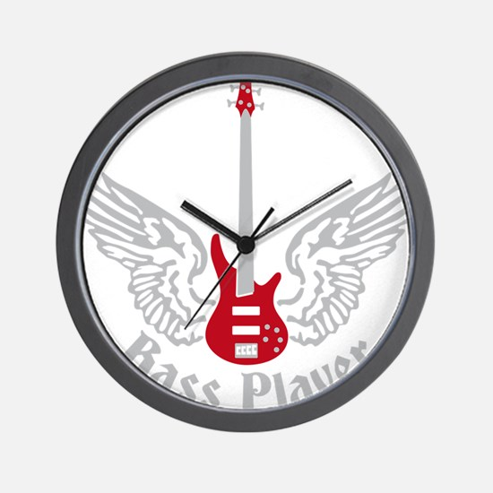 Bass Guitar 07-2011 F 2c Wall Clock