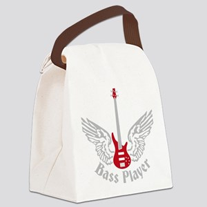 Bass Guitar 07-2011 F 2c Canvas Lunch Bag