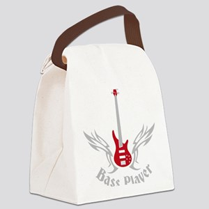 Bass Guitar 07-2011 H 2c Canvas Lunch Bag