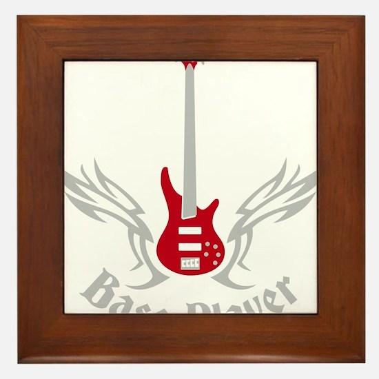 Bass Guitar 07-2011 H 2c Framed Tile