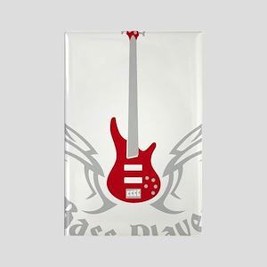 Bass Guitar 07-2011 H 2c Rectangle Magnet