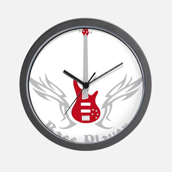 Bass Guitar 07-2011 H 2c Wall Clock