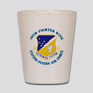 49th-Fighter-Wing-with-Text Shot Glass