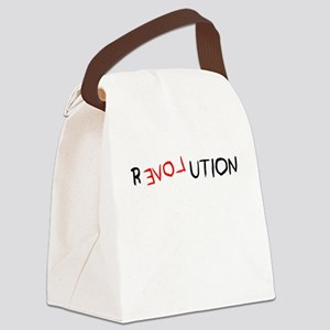 revolution Canvas Lunch Bag